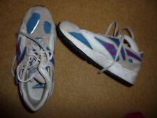 REEBOK Grey/Blue/Aubergine Trainers Size 4/36