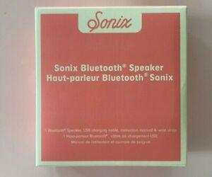 Sonix Bluetooth Speaker Pink with Wriststrap