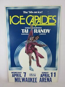 1980's Ice Capades Skating Champions Tai Babilonia and Randy Gardner Poster