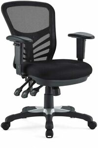 Modway Mesh Office Chair in Black New