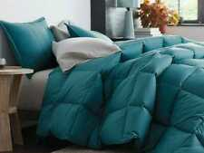 100% EGYPTIAN COTTON COMFORTER SOLID ALL SIZE AVAILABLE IN TURQUOISE BLUE COLOR