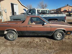 1984 Dodge Chrysler Rampage