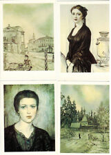 F.Dostoevsky THE BROTHERS KARAMAZOV 16 Russian postcards in folder I.Glazunov