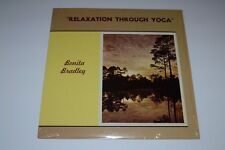 Bonita Bradley~Relaxation Through Yoga~1975 Private Yoga LP~Insert~VG++ Vinyl