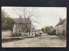 Vintage RPPC: Berkshire: #T89: The Street, Drayton: Tinted Coloured