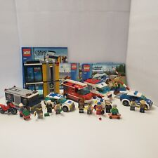 large LEGO City Police lot 3 sets 3661 60023 4436 complete w instructions & figs