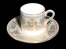 Beautiful Wedgwood Columbia Sage Green Demitasse And Saucer