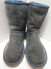 Genuine Ugg Classic Short Boots UK 4.5 Euro 37.5 in Blue 0d2b3f7ee6e