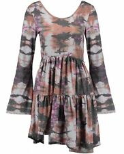 Knee Length Polyester Floral Sheath Dresses for Women