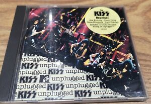 KISS MTV Unplugged CD Excellent Condition Ace, Gene, Paul & Peter, Eric & Bruce