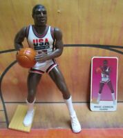 1992  MAGIC JOHNSON Starting Lineup Basketball - DREAM TEAM USA Loose Figure