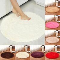 Round Circle Non Slip Floor Carpet Washable Floor Small Rugs Mat Rug Home Decor