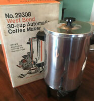 """West Bend Coffee Percolator Urn 11868 11869 11825 1829 Power Cord 2 Pin 36/"""" part"""
