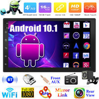 Doble 2DIN Coche Estéreo MP5 Reproductor Android 10.1 7in Wifi BT GPS Radio +