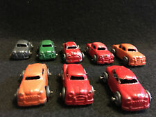 Old Vtg Toy Lot Barclay Cars For Auto Hauler Transporter cast metal