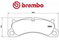 P65025 Kit pastiglie freno, Freno a disco (MARCA-BREMBO)