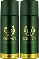 Denver Hamilton Deo Combo Body Spray For Men 165 ml X 2 Pack|VSS