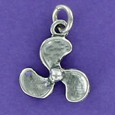 Boat Propeller Charm Sterling Silver for Bracelet Prop Speedboat Water Ski Fish