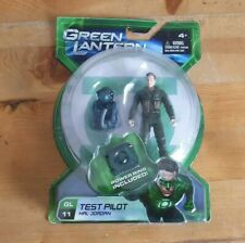 Green Lantern The Movie  Test Pilot Hal Jordan Action Figure power ring included