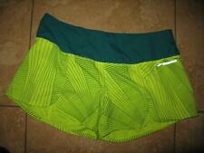Brooks Size Large Athletic Liner Running ShortsWomen's Green Neon Stripe
