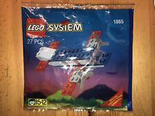 LEGO System 1865 - Flugzeug - Airline Promo Polybag