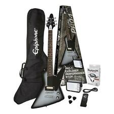 Epiphone pro-1 Explorer Electric Guitar Mini Amp Gig Bag Guitar Strap Plectrum Cable