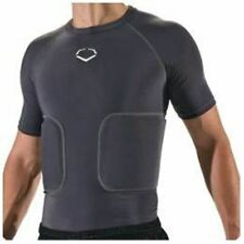 New EvoShield Football Knox Rib Protector Shield Compression Shirt L Youth Yl
