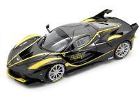FERRARI FXX-K #44 BLACK SIGNATURE SERIES 1:18 DIECAST MODEL CAR BY BBURAGO 16907