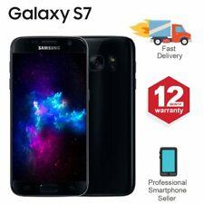 SAMSUNG GALAXY S7 32GB Sbloccato 4G SIM Android Cellulare Nero