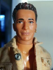 Torand Beverly Hills 90210 Barbie Luke Perry Doll 1991 American Actor Handsome