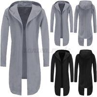 INCERUN Men's Long Coat Jacket Open Front Cardigan Capes Cloak Coat Tops Outwear