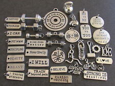 FITSPO CHARM - Choose 1 from photo. Suit Crossfit/Gym/Fitness/Motivation/Health