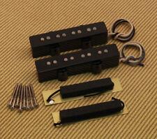 099-2123-000 Fender Original Jazz J Bass Pickup Set w/ Copper Shields & Screws