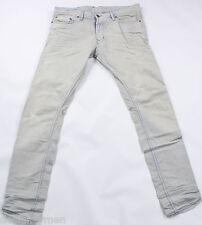 Nuevo DIESEL Tepphar 008PK Jeans 33X34 100% Auténtico Calce Ajustado cónico