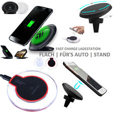 Wireless Charger Wifi Induktive Ladegerät Qi kabellos Induktion USB Ladestation