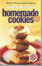 Better Homes and Gardens Quick & Easy Homemade Cookies PB 2004