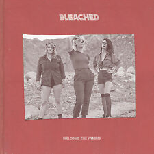 Bleached Welcome The Worms BLACK/CREAM VINYL LP Record & MP3 ride your heart NEW