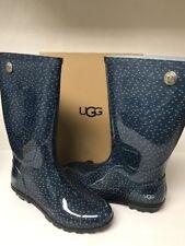 Ugg Women's Shaye Doots Rain Boots Size 10 Color Blue