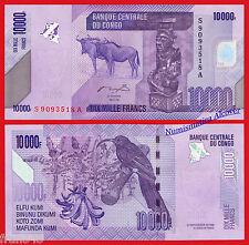 CONGO DEMOCRATIC REPUBLIC 10000 Francs 2006 2012  Pick NEW  SC / UNC