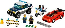 LEGO City 60007 High Speed Chase 100% Complete w/ Manual & Minifigures