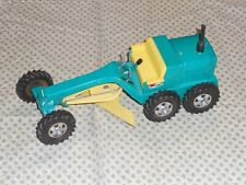 Vintage Structo Green and Yellow Road Grader