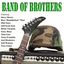 Band of Brothers Various Artists CD Purple Pyramid Guitar Masters Brian Tarquin