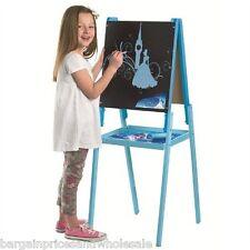 Large Princess Cinderella 3-in-1 Wooden Easel Art Chalkboard wipe board Floor