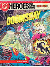 The Doomsday Program - DC Heroes Role Playing Module (1986, Mayfair)
