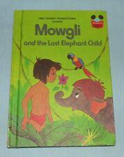 Disney Wonderful World of Reading - Mowgli and Lost Elephant Child - 1978