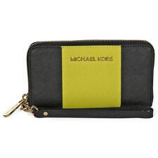 Michael Kors Large Coin Multi-Function Phone Case Wristlet - Black / Apple