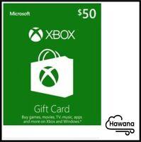 $50 XBOX Live - Xbox One / Xbox 360 $50 USD - US Gift Card [USA]
