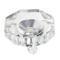 7LED lights Illuminated Crystal Display Stand Base for Engraving Crystal Display