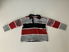 Armani Baby Boys Polo T Shirt, Long Sleeve, Size Age 18 Months, 86cm, VGC