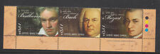 CYPRUS MNH STAMP SET 2011 FAMOUS 18TH CENTURY COMPOSERS SG 1238-1240